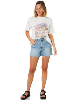 VINTAGE WHITE WOMENS CLOTHING ALL ABOUT EVE TEES - 6446223VWHT
