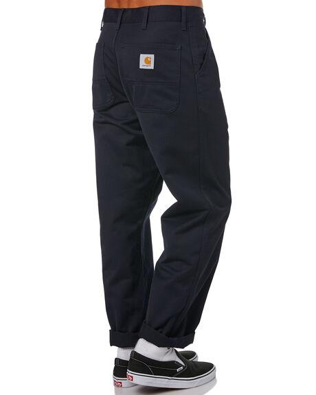 DARK NAVY MENS CLOTHING CARHARTT PANTS - I020075-1CDNVY
