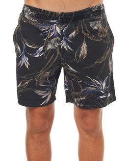 BLACK MENS CLOTHING STUSSY BOARDSHORTS - ST073616BLK