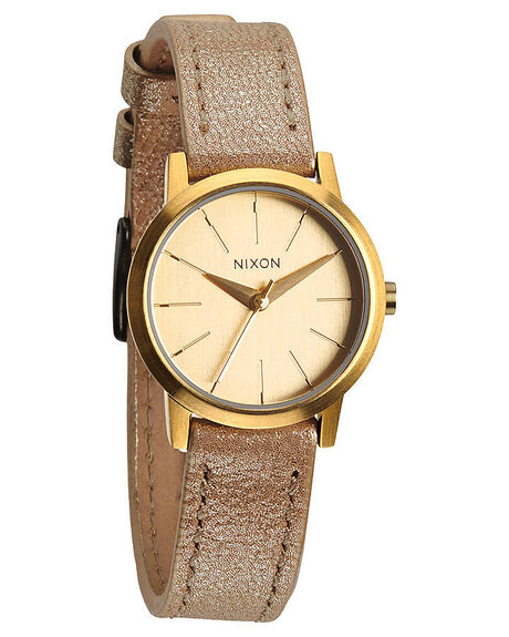 GOLD SHIMMER MENS ACCESSORIES NIXON WATCHES - A3981877