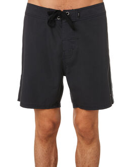 HERITAGE BLACK MENS CLOTHING THRILLS BOARDSHORTS - TH9-309HBHBLK