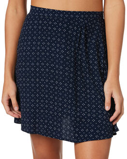 INDIGO WOMENS CLOTHING TIGERLILY SKIRTS - T383281IND