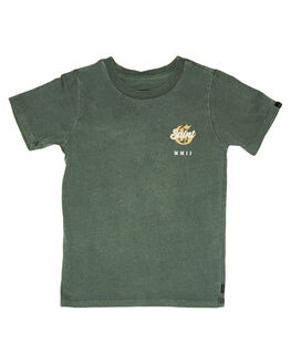 GREEN KIDS BOYS ST GOLIATH TOPS - 2850006GRN