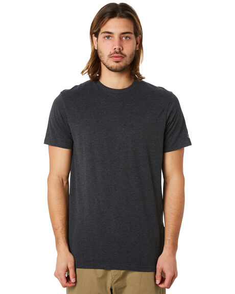 CHARCOAL HEATHER MENS CLOTHING VOLCOM TEES - A5011530CHH