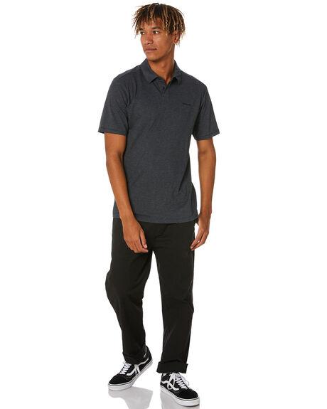 BLACK HEATHER MENS CLOTHING HURLEY SHIRTS - CZ6017H010