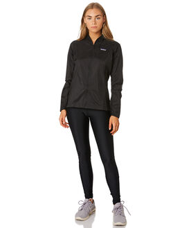 BLACK WOMENS CLOTHING PATAGONIA JACKETS - 24147BLK