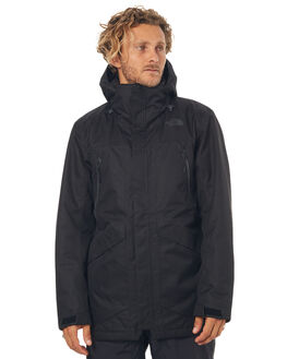 TNF BLACK SNOW OUTERWEAR THE NORTH FACE JACKETS - NF0A331XJK3BLK