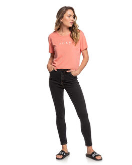 TERRA COTTA WOMENS CLOTHING ROXY TEES - ERJZT04813-MJN0