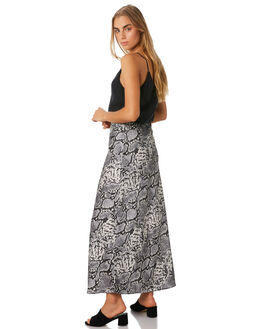 SNAKE WOMENS CLOTHING LULU AND ROSE SKIRTS - LU23764SNAKE