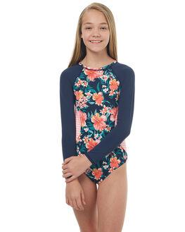 ISLAND TROPIC KIDS GIRLS ROXY SWIMWEAR - ERGWR03067XBBR