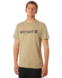 KHAKI SAND MENS CLOTHING ELEMENT TEES - 183001KHAKI