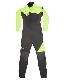 JET BLACK YELLOW BOARDSPORTS SURF QUIKSILVER TODDLER BOYS - EQKW103001XKGK