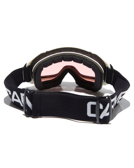WHT PINK BOARDSPORTS SNOW CARVE GOGGLES - 6121WHPNK