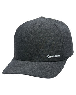 BLACK MENS ACCESSORIES RIP CURL HEADWEAR - CCAQP10090