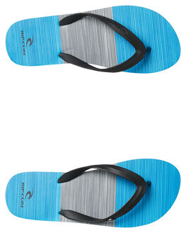 BLACK BLUE MENS FOOTWEAR RIP CURL THONGS - TCTA130107