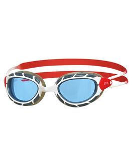 WHITE RED TINT BOARDSPORTS SURF ZOGGS SWIM ACCESSORIES - 336863WHTRD