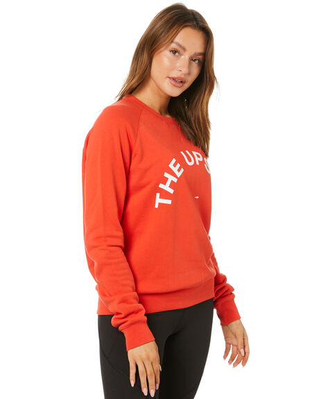 RED WOMENS CLOTHING THE UPSIDE JUMPERS - USW221083RED