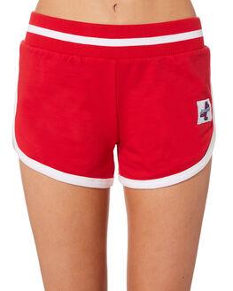 POP RED WOMENS CLOTHING SANTA CRUZ SHORTS - SC-WWC7389PRED