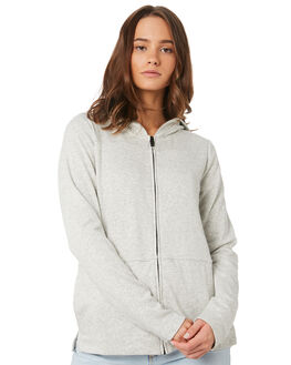 GREY HEATHER OUTLET WOMENS HURLEY JUMPERS - 941327050