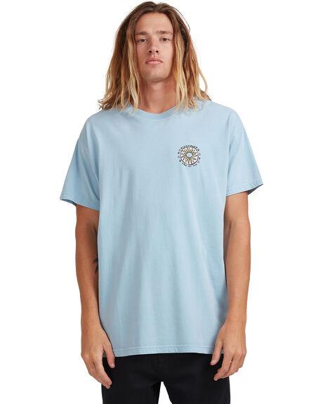 DUSTY BLUE MENS CLOTHING BILLABONG TEES - 9513028-BC3