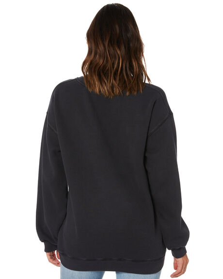 BLACK WOMENS CLOTHING RUSTY JUMPERS - FTL0737-BLK
