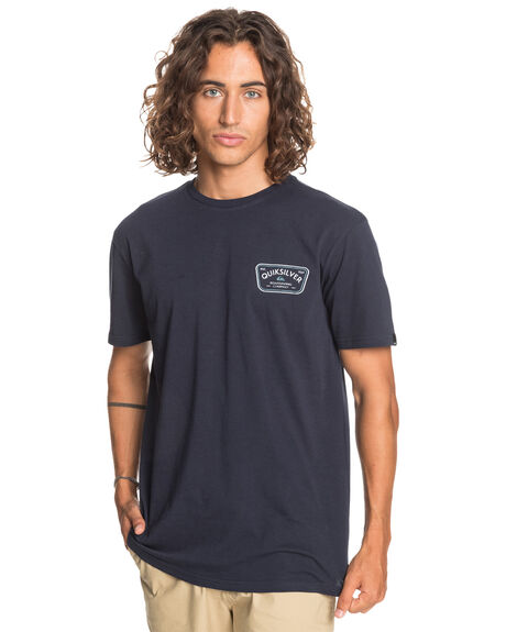 NAVY BLAZER MENS CLOTHING QUIKSILVER TEES - EQYZT06203-BYJ0