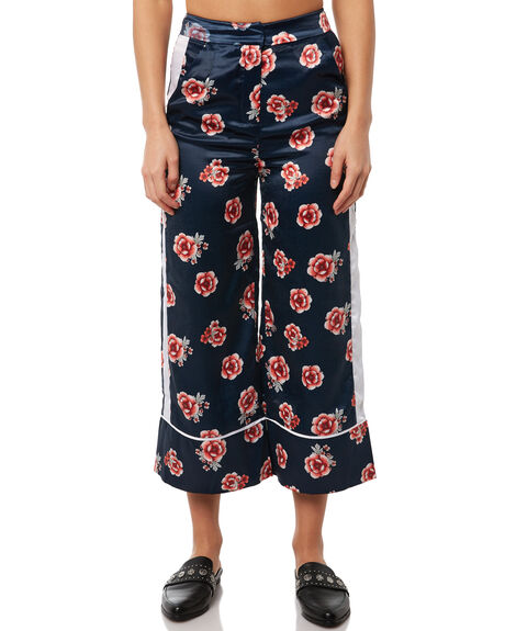 NAVY FLORAL OUTLET WOMENS THE FIFTH LABEL PANTS - 40180304-3NAVYF