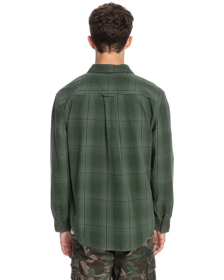 MOTION ROOT BEER MENS CLOTHING QUIKSILVER SHIRTS - UQYWT03040-CQR1