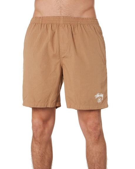 TANNIN MENS CLOTHING STUSSY BOARDSHORTS - ST091601TANN