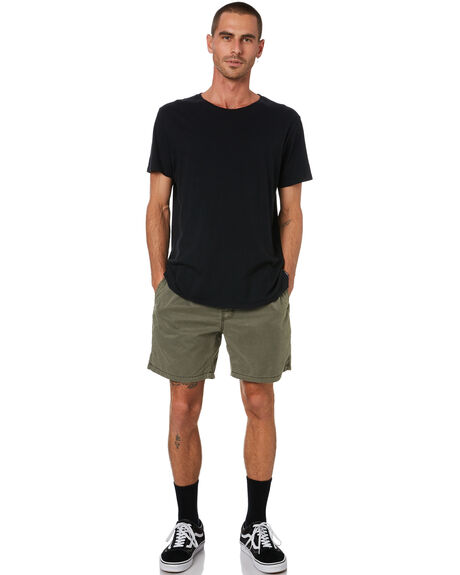 OLIVE MENS CLOTHING SWELL BOARDSHORTS - S5164233OLV