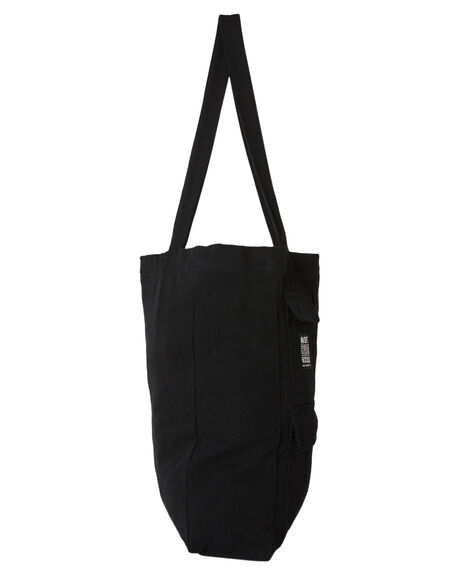 BLACK MENS ACCESSORIES MISFIT BAGS + BACKPACKS - MT701013BLK