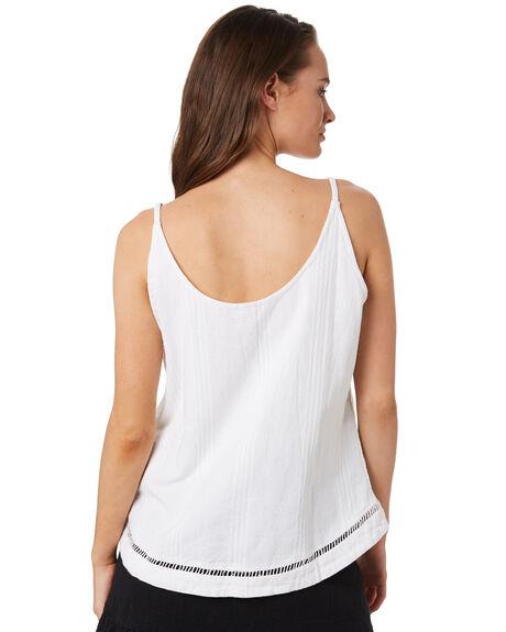 WHITE WOMENS CLOTHING RIP CURL FASHION TOPS - GSHFY11000