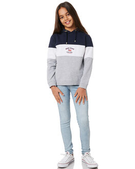 NAVY WHITE GREY KIDS GIRLS EVES SISTER JUMPERS + JACKETS - 9551021MULT