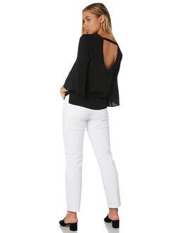 BLACK WOMENS CLOTHING RUSTY FASHION TOPS - WSL0608BLK