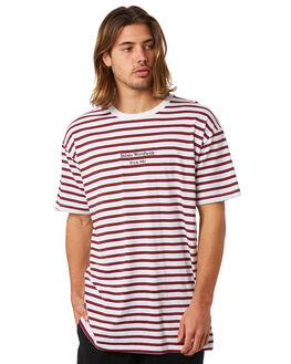 WHITE MENS CLOTHING STUSSY TEES - ST083106WHT