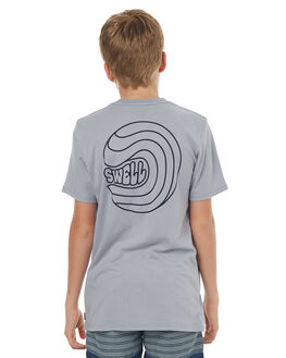 ARCTIC BLUE KIDS BOYS SWELL TOPS - S3171006ARTBL
