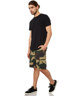 FIELD CAMO MENS CLOTHING OBEY SHORTS - BY088602FCA