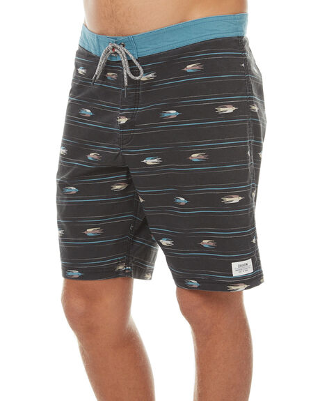 BLACK WASH MENS CLOTHING KATIN BOARDSHORTS - TRSPAS17BKWSH