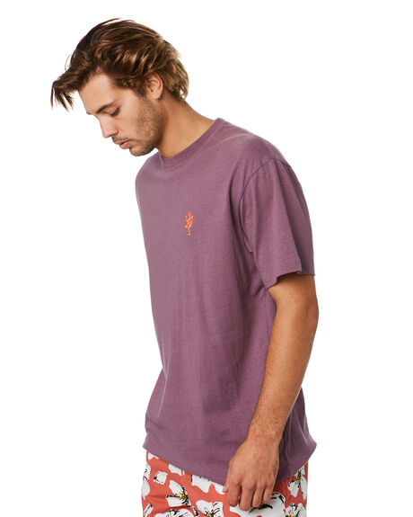 BLACK PLUM MENS CLOTHING THE CRITICAL SLIDE SOCIETY TEES - TE18261BLKPM