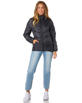 BLUE GREY WOMENS CLOTHING RIP CURL JACKETS - GJKCE10131