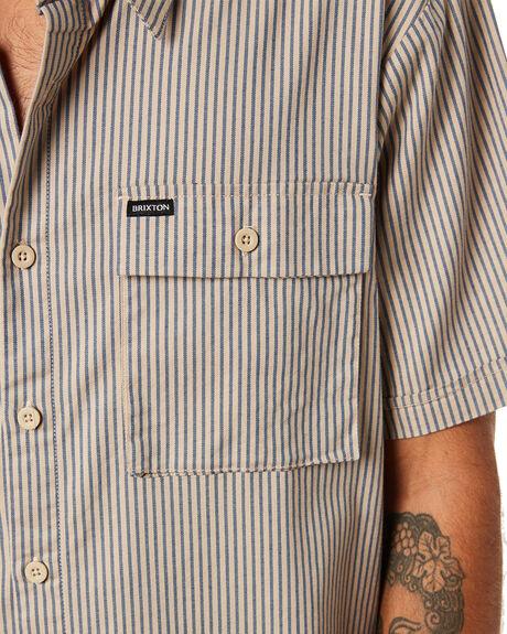 VANILLA JOE BLUE OUTLET MENS BRIXTON SHIRTS - 01224VNJBL