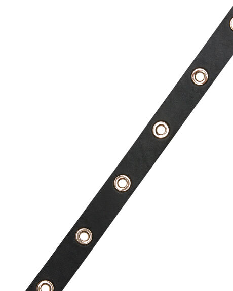 BLACK WOMENS ACCESSORIES RUSTY BELTS - BEL0427BLK