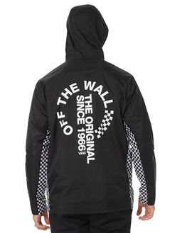 BLACK MENS CLOTHING VANS JACKETS - VNA3W29BLKBLK