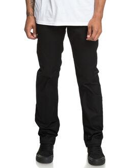 BLACK MENS CLOTHING DC SHOES PANTS - EDYNP03136KVJ0