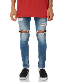 MID INDIGO MENS CLOTHING THE PEOPLE VS JEANS - W18002MIDIN
