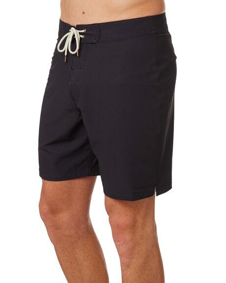 DUSTY BLACK MENS CLOTHING MCTAVISH BOARDSHORTS - MS-18BS-03DBLK