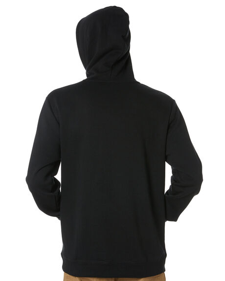 BLACK RED MENS CLOTHING VOLCOM JUMPERS - A4101908BRD