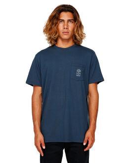 NAVY MENS CLOTHING BILLABONG TEES - BB-9591035-NVY