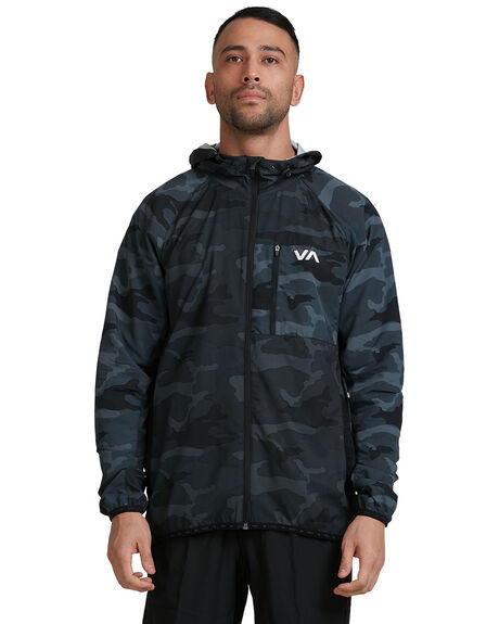 CAMO MENS CLOTHING RVCA JACKETS - RV-R307437-CMO