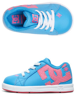 LIGHT BLUE KIDS BOYS DC SHOES FOOTWEAR - ADTS700036-LBL